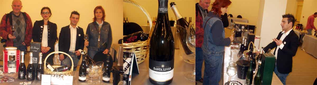 Franciacorta winery Prosecco