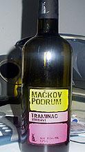 Traminac Mackov podrum winery