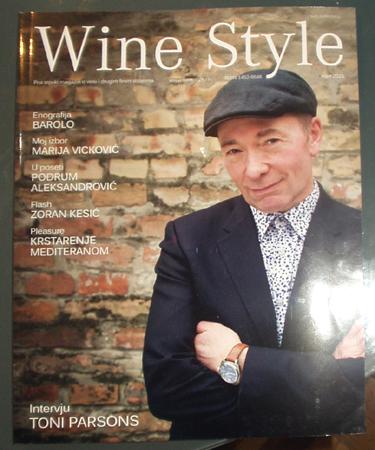 Wine Style magazine Serbia