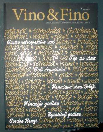 Vino i Fino magazine Serbia