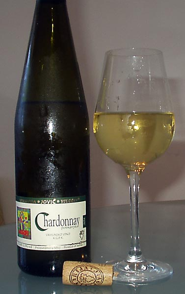 Jovic winery Chardonnay 2014