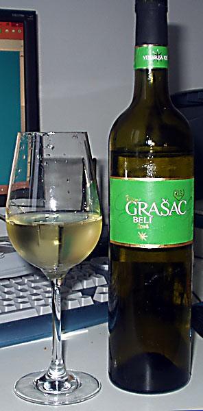 Grasac beli 2014 - Kis winery