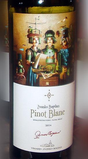 Pinot blanc 2012 - Zvonko Bogdan winery