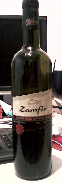 Zamfir - Vinex winery