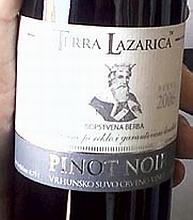 Tera Lazarica Pinot Noir 2006