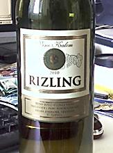 Rizling Rajnski Kalem Trstenik winery