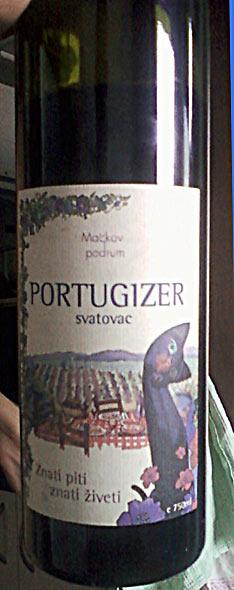 Portugezer Mackov podrum winery
