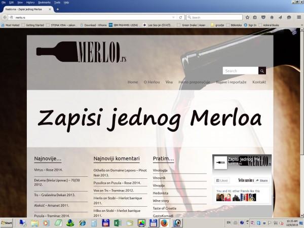 Zapisi jednog Merloa