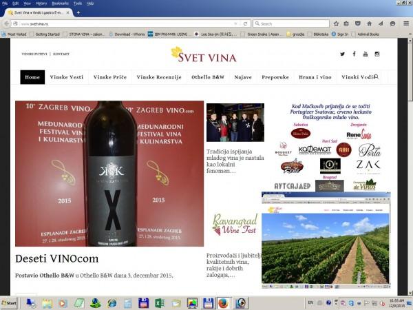 Svet vina