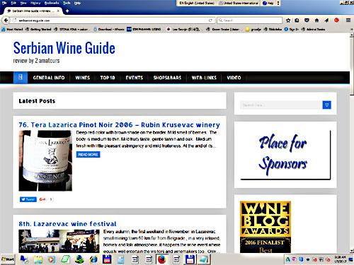 Serbian Wine Guide