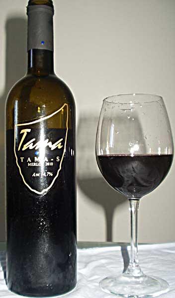 Merlot Tanica pimnice winery