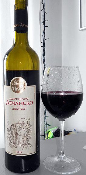 Decansko manastirsko vino