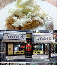 """Zlata "" pastry and cake shop Belgrade Serbia"