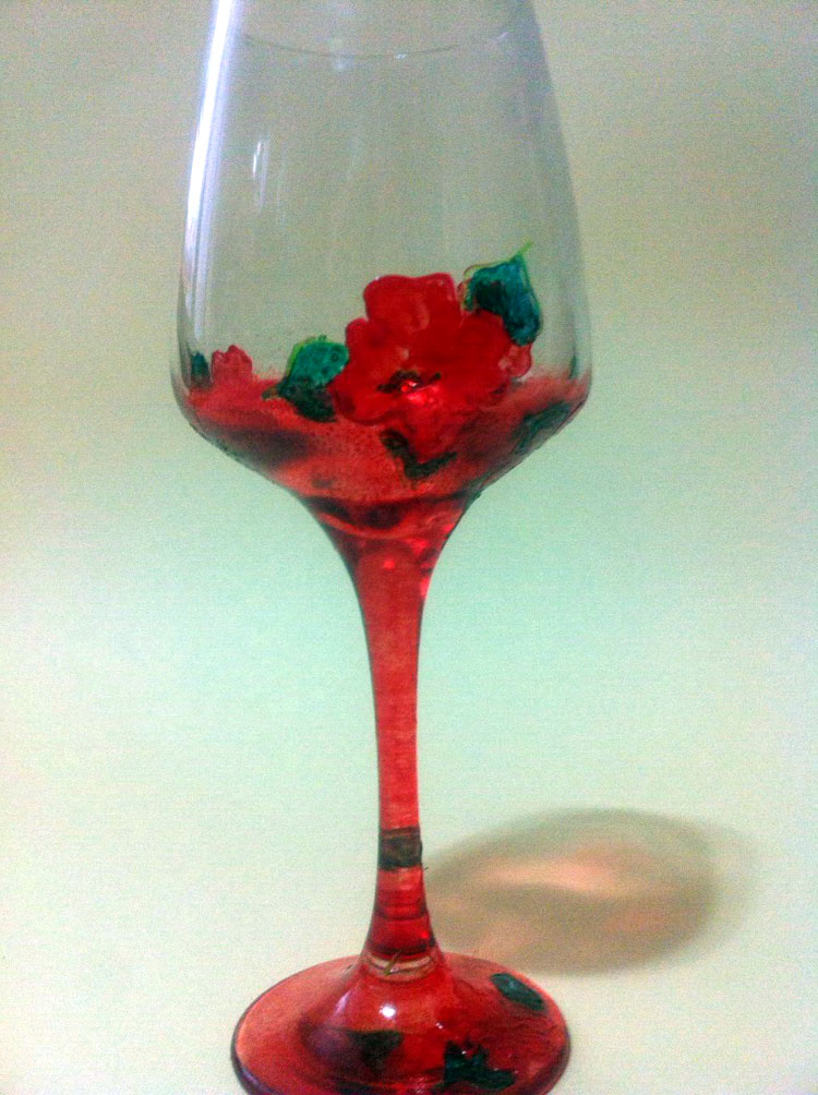 Visnja Zikic glass art