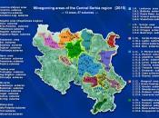 Winegroving regia Central Serbia