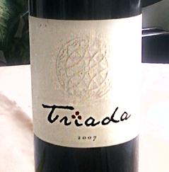 Triada 2007 Budimir winery