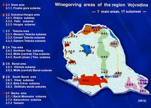 Maps and stats info Serbian Wine Guide