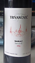 Trivanovic winery Siraz 201